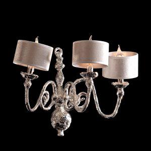Melting Amsterdam - Wall Lamp - Dutch Silver