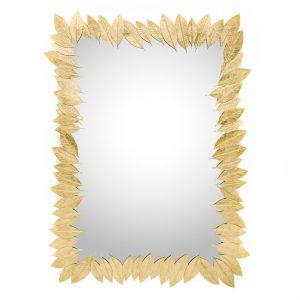 Ginger & Jagger Leaf Rectangular Mirror