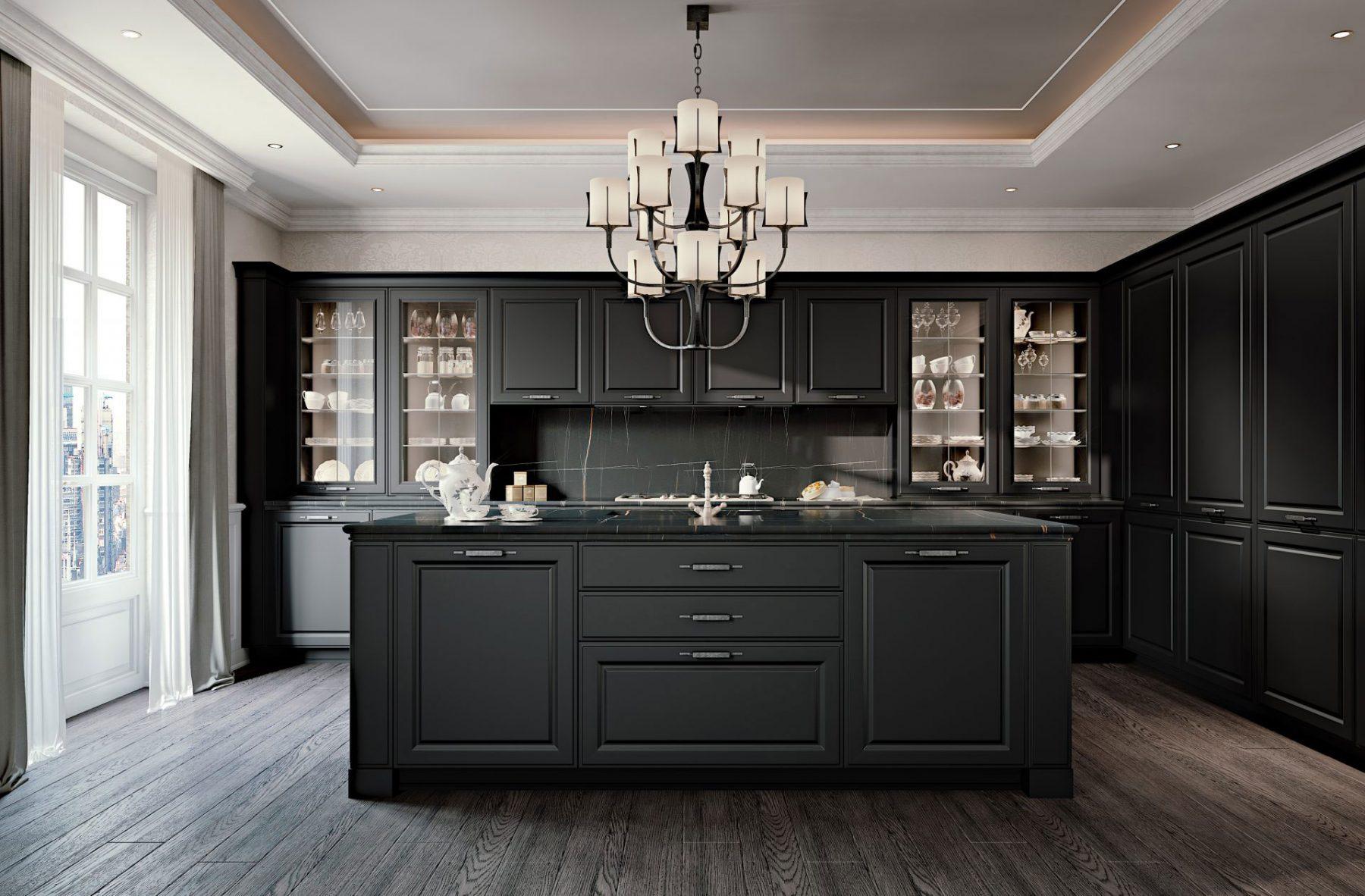 Luxury Italian Kitchens | SCIC Cucine & Fendi Kitchens ...