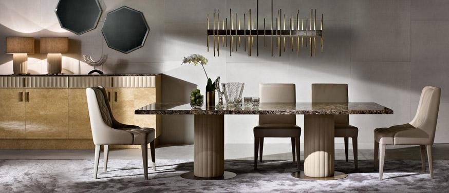 Luxury Dining Tables Passerini, Luxury Dining Room Furniture Italy
